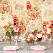 theme wedding decorations floral fabric inspired wedding ideas martha stewart weddings
