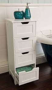 Bathroom Drawer Storage by Home Treats Tall 4 Drawer Storage Cabinet Bathroom Cabinet Or