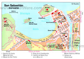 Spain Map Quiz by San Sebastian Spain Map Imsa Kolese