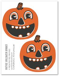 free vintage halloween banner printable halloween banner
