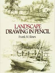 landscape drawing in pencil dover art instruction frank m