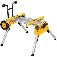 dewalt table saw dw746 dewalt dw7440rs rolling saw stand dewalt table saw cart amazon com