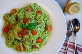 cuisine crudivore recette spaghetti de courgette au pesto d avocat toutes les