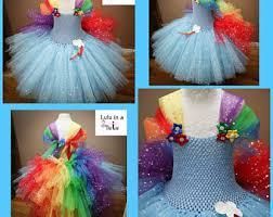 Pony Rainbow Dash Halloween Costume Rainbow Dash Costume Etsy