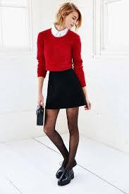 red cropped sweater women u0027s fashion