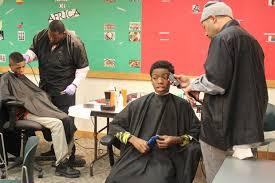 at englewood u0027barbershop at the library u0027 kids get haircuts peace