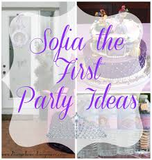 hazeline u0027s sofia the first party diary of a working mom