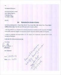 board member resignation letter sle resignation letter sle with immediate effect 28 images
