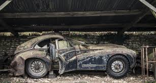 Barn Finds Cars Barn Find Of The Century 60 Classics Found In France
