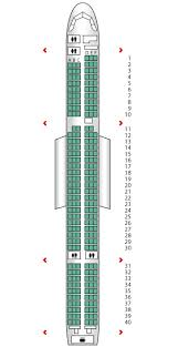 757 seat map b757 200 cook airlines seat maps reviews seatplans com