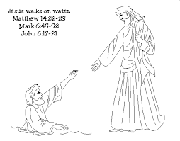 peter bible coloring pages