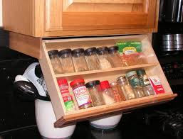 Kitchen Under Cabinet Tv Kitchen Countertop Spice Rack Pull Down Spice Rack Under