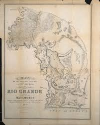 Map Of Rio Grande River A Continent Divided The U S Mexico War
