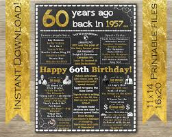 gift ideas for a 60th birthday diy birthday gifts
