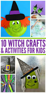 10 witch crafts u0026 activities for kids witch craft craft