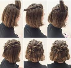 tutorial menata rambut panjang simple tutorial gaya si rambut pendek tak perlu menunggu hingga rambutmu
