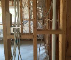 plumbing and electrical services rough in build
