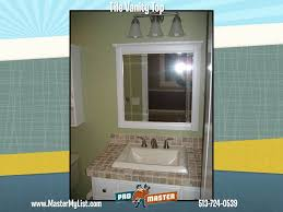 Tile Vanity Top Cincinnati Tile Repair And Installation Flooring Repair Ohio