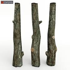 tree trunk 3d model cgtrader