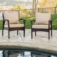 All Weather Wicker Brown All Weather Wicker Chair Lounge To Lawn