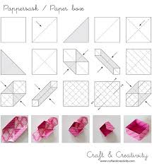 How To Make A Box With Paper - craft of the day paper boxes box and origami