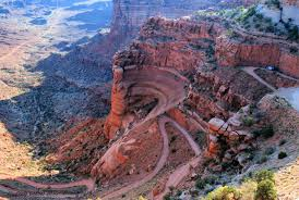 Utah Road Conditions Map by Shafer Trail Utah Alltrails Com