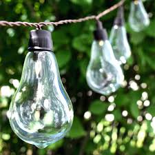 Costco Outdoor Solar Lights by Costco Led String Lights Portfolio 24 Ft 12 Light White Led Plug