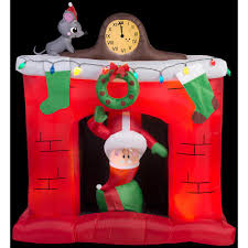 home depot inflatable outdoor christmas decorations santa christmas inflatables outdoor christmas decorations