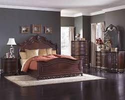 homelegance bedroom set w sleigh bed deryn park el2243slset