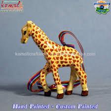 Paper Mache Christmas Crafts - giraffe paper mache hand made animal wholesale christmas