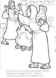 peter bible coloring pages image gallery photonesta story of