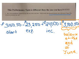 showme go math grade 7 unit 2 performance task answer key