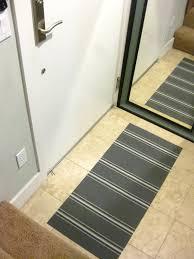 a little diy low profile floor mat using placemats u2014 shinah chang