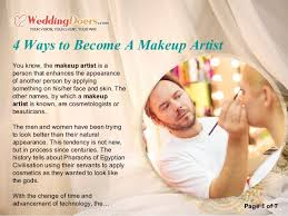 become a makeup artist 4 ways to become a makeup artist