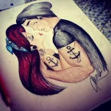 15 best couple tattoos disney characters images on pinterest