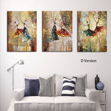 Livingroom Art Aliexpress Com Buy Ballet Dance Wall Art Picture For Living Room
