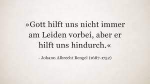 www trauersprüche de johann albrecht bengel