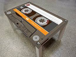 cassette tape coffee table for sale amazon com cassette tape coffee table kitchen dining
