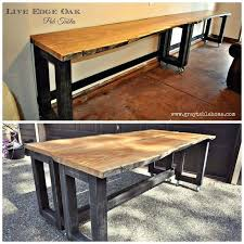 what is a pub table what is a pub table live edge oak pub tables on wheels so that they