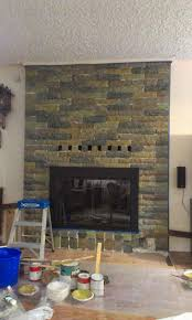 painted brick fireplaces ideas on pinterest letus fire up that