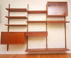 Modern Wall Bookshelves Home Design Impressive Danish Bookshelves Wall Shelving Units