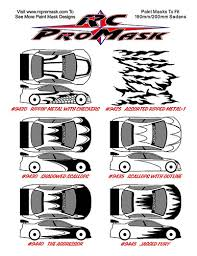 rc promask complete paint mask designs background fx characters