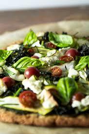 gluten free green goddess pizza zestful kitchen