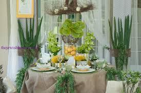 sukkah decorations table settings sensational sukkah display at table set go