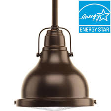 led mini pendant lights progress lighting fresnel lens collection 1 light oil rubbed bronze