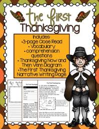 the thanksgiving read and writing activity by monkey bars
