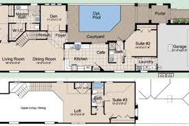 golf course clubhouse floor plans club mediterranean style house