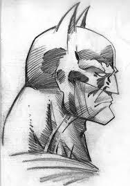 batman sketches side face batman profile sketch jsimonart on