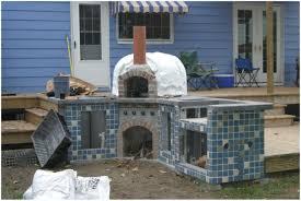 backyards trendy backyard pizza oven kit 52 inspirations