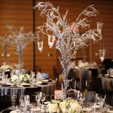 Tree Centerpieces Icicle Tree Centerpieces